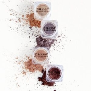 Naked Cosmetics 4 - Piece Pigment Set